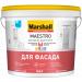 Краска Marshall Maestro Фасадная акриловая глубокоматовая BW 4,5л