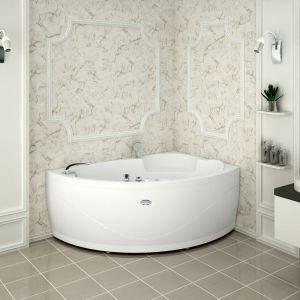 Акриловая ванна Vannesa Алари 1680х1200х680, левая, с экраном, без г/м