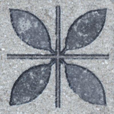 Керамогранит ST09\SG9118 вставка Аллея 3,5х3,5