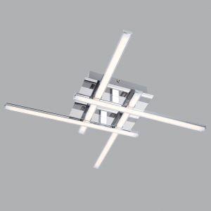 Люстра потолочная Eurosvet 90019/4 хром