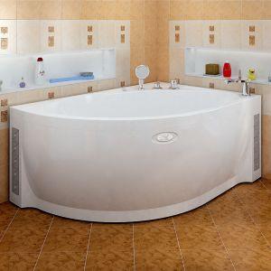 Акриловая ванна Vannesa Мелани 1400х950х590, правая, с экраном, без г/м