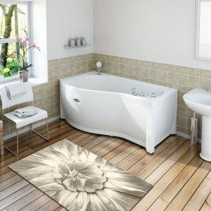 Акриловая ванна Vannesa Миранда 1680х950х660, левая, с экраном, без г/м