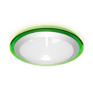Светильник светодиодный Estares 25W(2400lm) белый 4К 430х90мм зеленый ALR-25 Green