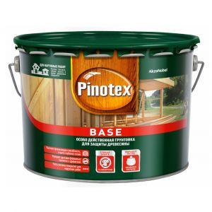 Грунтовка деревозащитная Pinotex Base 9л.