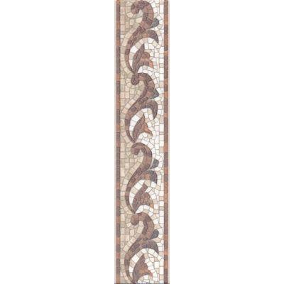 Плитка HGD/A233/6000L Пантеон бордюр лаппатированный  40x7,7