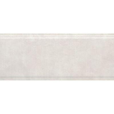 Плитка BDA004R Сад Моне белый обрезной бордюр 30x12