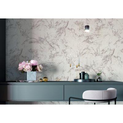 Обои Палитра Marble 1360-12 виниловые на бумаге 0,53х10,05м белый