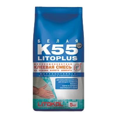 Клей плиточный Litokol LitoPlus K55  5кг