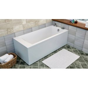 Акриловая ванна BellSan Вета 1700х700х600, с экраном, без г/м