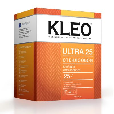 Клей КLЕО ULTRA 25 для стеклообоев 220 г