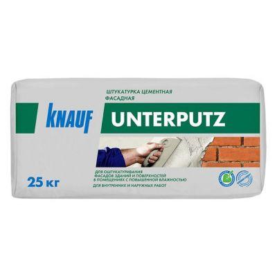 Штукатурка цементная влагостойкая Knauf  Унтерпутц  25кг