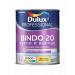 Краска Dulux Professional Bindo 20 полуматовая для стен и потолков BW 1л.
