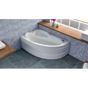 Акриловая ванна BellSan Виола 1600x1000x620, правая, с экранам, без г/м