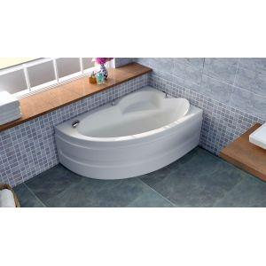 Акриловая ванна BellSan Виола 1600x1000x620, левая, с экранам, без г/м