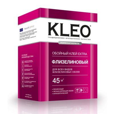 Клей КLЕО EXTRA 45 флизелиновый с индикатором усиленная формула клей 320 г индикатор 10 г