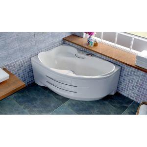 Акриловая ванна BellSan Индиго 1680х1100х715, правая, с экраном, без г/м, 2 ручки
