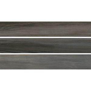 Керамогранит SG350800R Ливинг Вуд серый темный обрезной  9,6х60