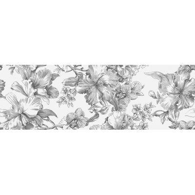 Плитка 14018R/3F Монфорте Цветы декор обрезной  40x120