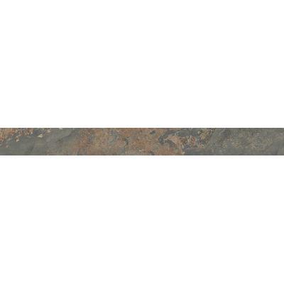 Плитка SPB003R Рамбла бордюр коричневый обрезной  25x2,5