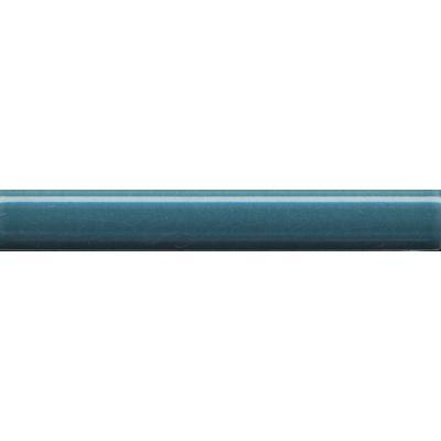 Плитка PFG006 Багет Салинас синий бордюр  15x2
