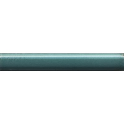 Плитка PFG008 Багет Салинас лазурный бордюр  15x2