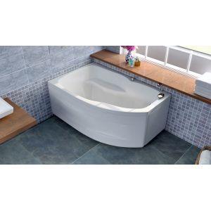 Акриловая ванна BellSan Сати 1500x960x630, правая, с экраном,  г/м 6 джет, а/м 8 джет