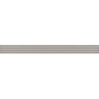 Плитка LSA011R Монфорте бордюр беж структура обрезной  40x3,4