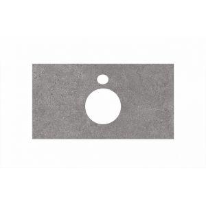 Столешница Kerama Marazzi Plaza PL1.DL500900R/80 Фондамент, для накладных раковин (48х80см)