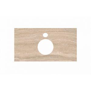 Столешница Kerama Marazzi Plaza PL1.SG560400R/80 Риальто песочный, для накладных раковин (48х80см)