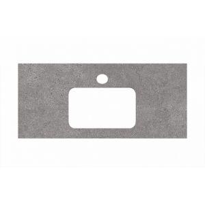 Столешница Kerama Marazzi Plaza PL2.DL500900R/100 Фондамента серый, для раковин встраиваемых сверху