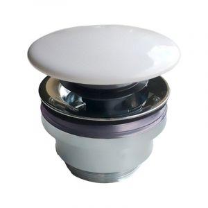 Клапан донный Kerama Marazzi Plaza DR.1/WHT (с керамической крышкой)