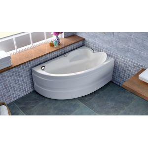 Акриловая ванна BellSan Грета 1480x900x630, левая, с экраном, без г/м