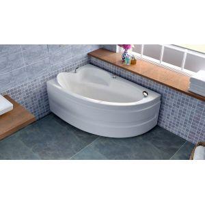 Акриловая ванна BellSan Грета 1480x900x630, правая, с экраном, без г/м