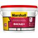 Краска Marshall Фасад+ глубокоматовая для минеральных фасадов и неотапливаемых помещений BW 2.5л