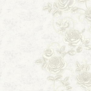 Обои Wallberry Тиффани 4843 виниловые на флизелине 1,06x10,05м белый