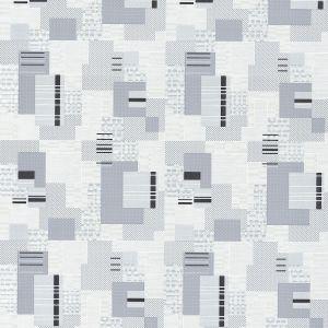 Обои Vilia Бостон 1214-22 виниловые на флизелине 1,06х10,05м серый