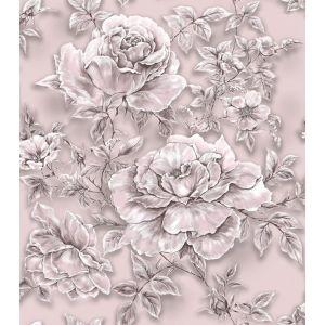 Обои Саратов Ингрид-Н Д570-03 бумажные дуплекс 0,53х10,05м розовый