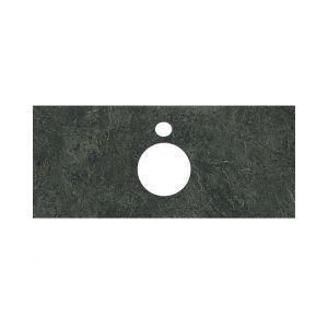 Столешница Kerama Marazzi Plaza PL1.VT97/100 Риальто зеленый темный, для накладных раковин(48х100см)
