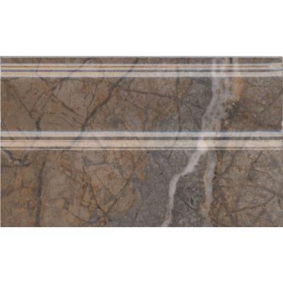 Плитка FMB023R Театро коричневый плинтус обрезной  25x15