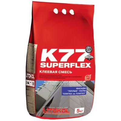 Клей плиточный Litokol SuperFlex K77 5кг