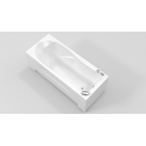 Акриловая ванна BellSan Агата 1690х800х630, с экраом,  г/м, а/м (10дж, 6 дж+6 дж сп/м (турбопул))
