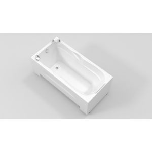 Акриловая ванна BellSan Эрика 1690х750х630, с экраном, без г/м