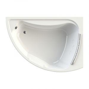 Акриловая ванна Radomir Альбена 1680х1200х660, правая, с экраном, без г/м, с подголовником