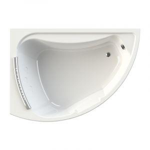 Акриловая ванна Radomir Альбена 1680х1200х660, левая, с экраном, без г/м, с подголовником