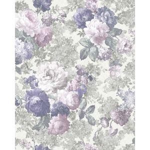 Обои Элизиум Rose Garden Е84105 виниловые на флизелине 1,06х10,05м серый