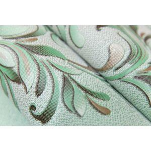 Обои Vilia Белиссимо 1354-71 виниловые на бумаге 0,53х10,05м зеленый