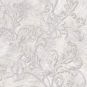 Обои Wallberry Шелл 5930 виниловые на флизелине 1,06x10,05м серый