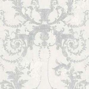 Обои AS Creation МИР Old Damask 37672-1 виниловые на флизелине 1,06x10,05м серый