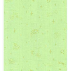 Обои Гомельобои Джуниор фон 0106-72 бумажные дуплекс 0,53х10,05м зеленый