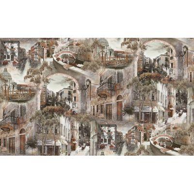 Обои Anturage Castello 168406-14 виниловые на флизелине 1,06х10,05м бежевый